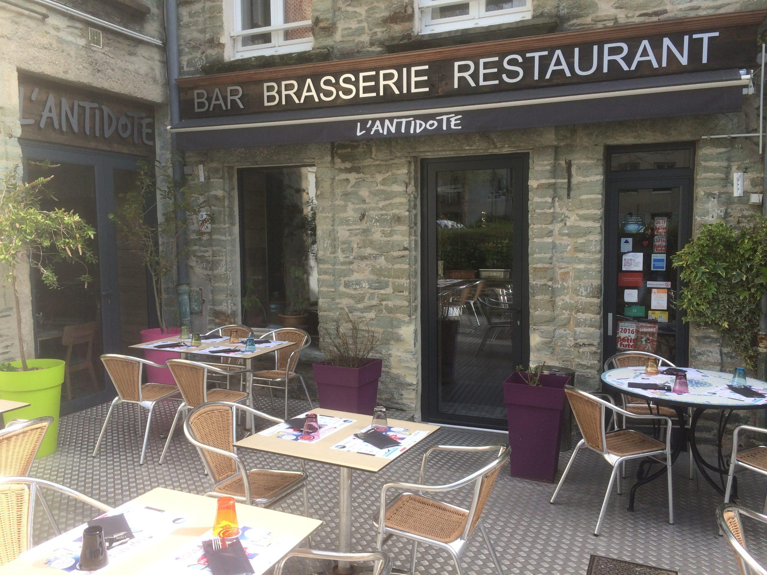 restaurant cherbourg avec la terrasse - restaurant antidote